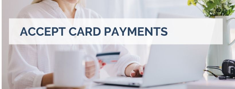 accept card payments paypal izettle chiropractor working from home