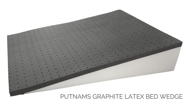 Latex bed wedge graphite UK Europe