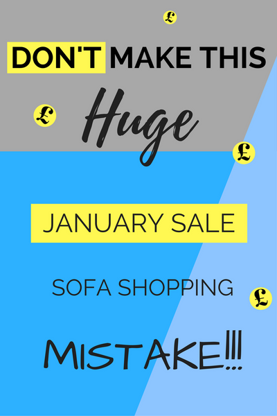Sofa Shopping January Sale Tips Offers Ideas Save Money