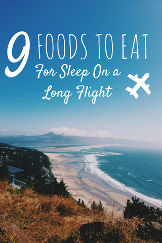 9 foods to eat on a long flight