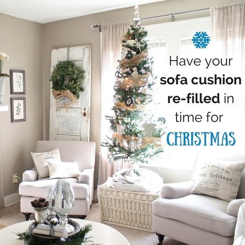 Christmas sofa refill how to prepare your home