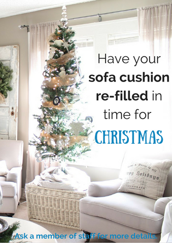 how to make your lounge christmassy