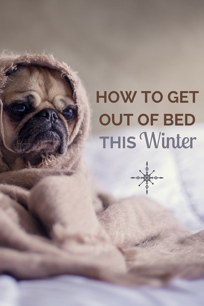 how to get out of bed in the morning winter cold sleep tips hacks heating thermostat