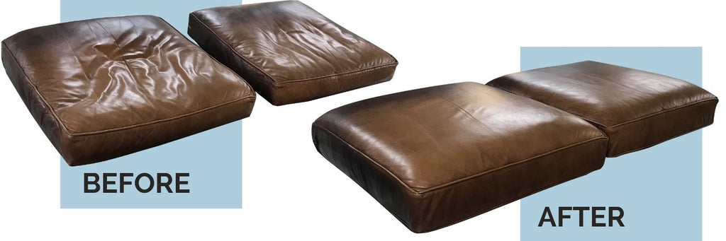 leather sofa cushion refilling near me