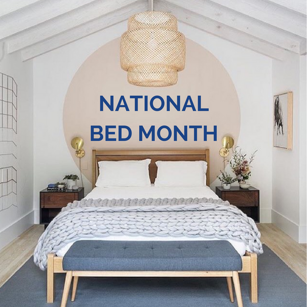 National Bed Month Bed Mattress Pillow