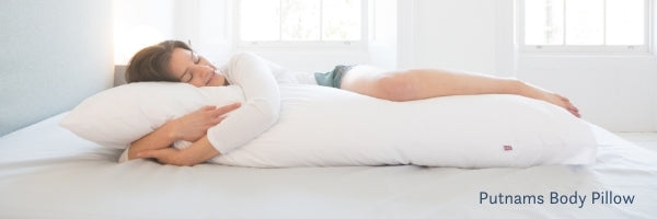 body pillow Putnams wellbeing drop ship products uk made devon