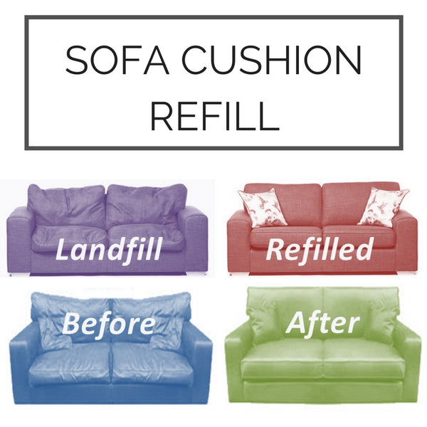 SCS sofa cushion replacement saggy refill sponge foam harder cushions