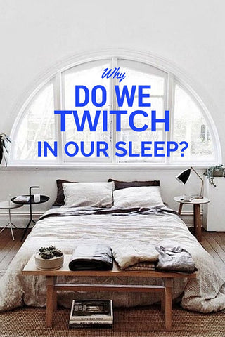 why do we twitch in our sleep myths sleep facts