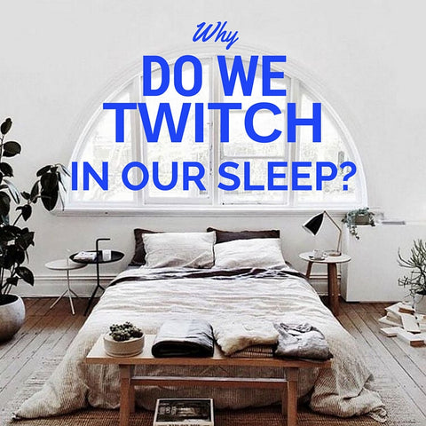 why do we twitch in our sleep sleep facts myths science