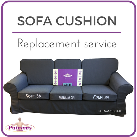 sofa cushion replacement england uk devon cornwall somerset plymouth