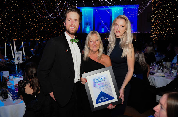 The Western Morning News Business of the year award Finalist Putnam Health Co Ltd Bubbles Hedley Catherine