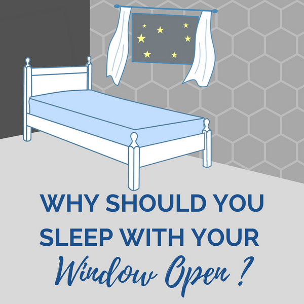 Why should you sleep with your window open benefits of sleeping door open ventilated room improves