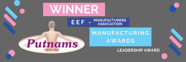 winner putnams award manufacturing manufacture uk British pillow mattress