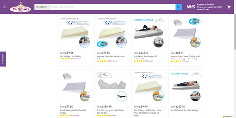 bed wedge website full range different options uk buy online