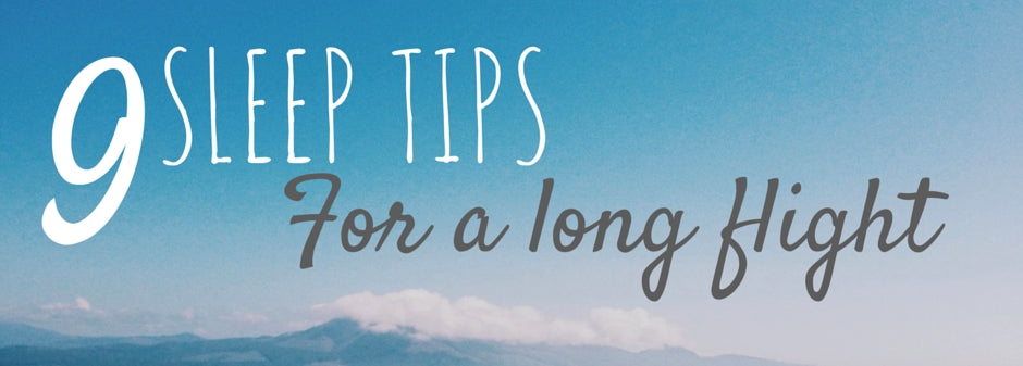 sleep tips for a long flight trans Atlantic
