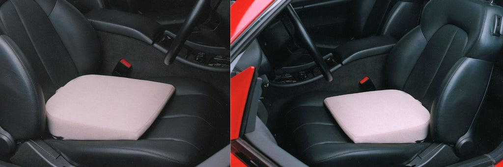 seating wedge in bucket sports car