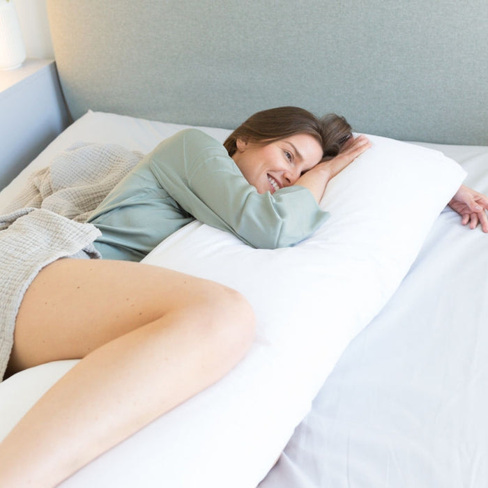 Pregnancy Pillow - recovery bump support cuddle hips back pain Putnams