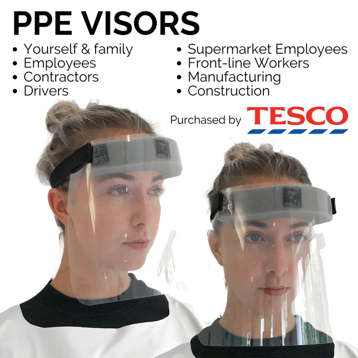 putnams ppe visor tesco barber hairdresser