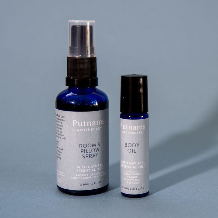 Sleep room and pillow spray - Putnams Lavender ylang ylang sweet orange cedarwood