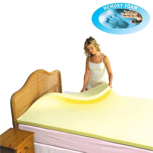 Memory Foam Mattress Topper - High Density - Putnams