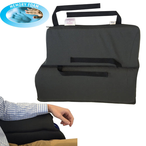 Memory Foam Wheelchair Arm Rest Cushion (Pair) - Putnams