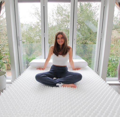 Ripple Mattress Topper - Sero Pressure - Putnams egg box foam