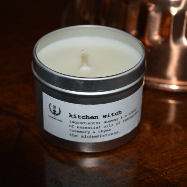 kitchen witch tin - sold out