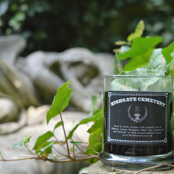 Highgate Cemetary Candle