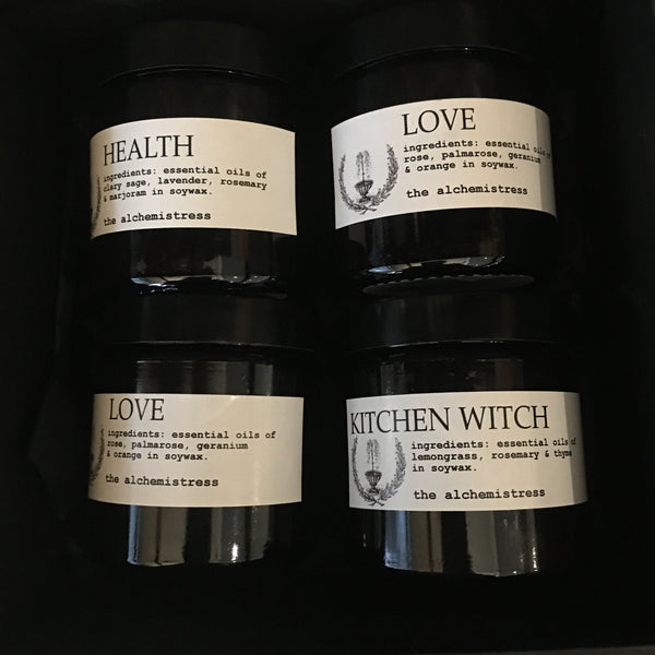 Gift box of four Jars