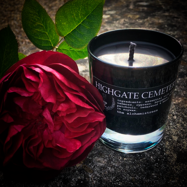 Highgate Cemetery Candle