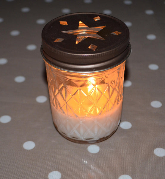 Love Quilted Candle