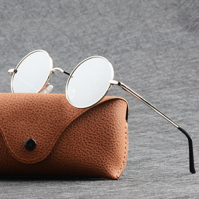 Classic polarized round sunglasses