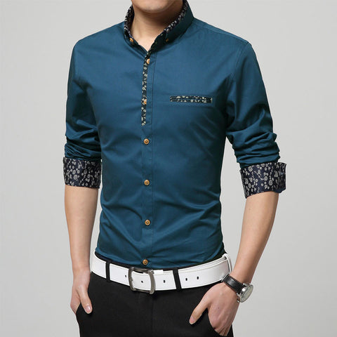 Casual long sleeve shirt  Miroy 2 - ASTREZO