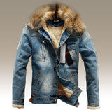 Warm Jeans jacket Morgan - ASTREZO - 1