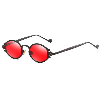 Oval Gothic Sunglasses