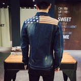 Slim fit jeans jacket Archi (4colors)