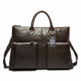 Genuine Leather briefcase Gent