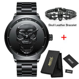 Creative 3D Skull Men's set (Watches+Bracelet)
