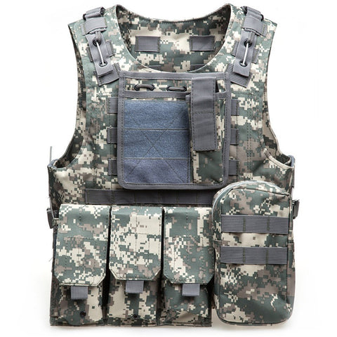Tactical Military Vest Masters (6 colors)