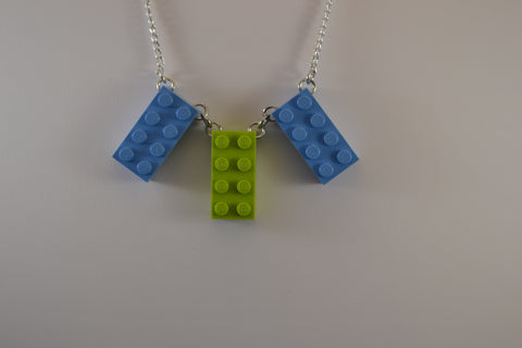 3 Brick Fan Necklace
