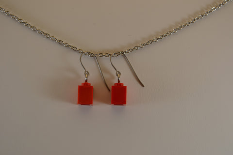 1x1 Brick Earrings