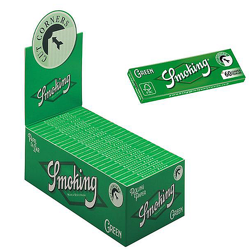 AS063: SMOKING GREEN ROLLING PAPER