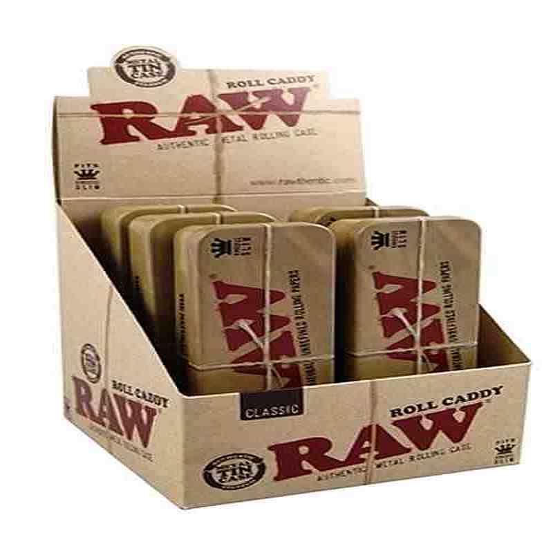 AS024: RAW CADDY TINS KING SIZE - Puff.co.za