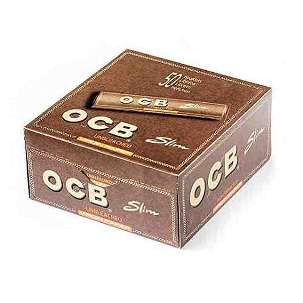 LAS011: OCB UNBLEACHED ROLLING PAPER KING SIZE