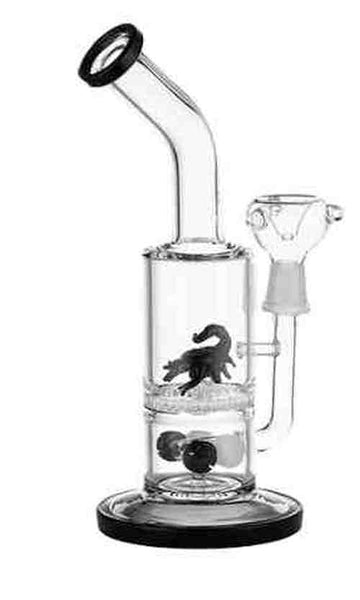 LBG001:  CLEAR GLASS BONG