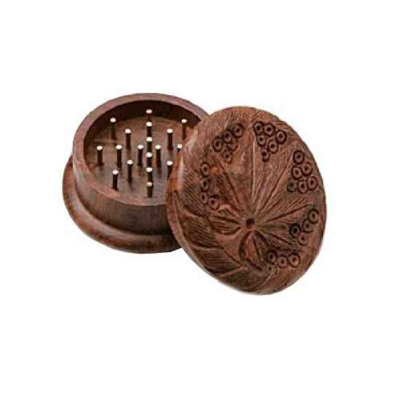 GW020: ROSE  WOOD GRINDER - Puff.co.za