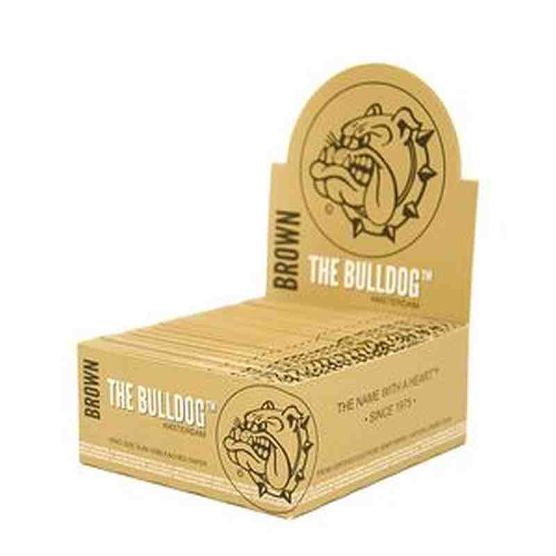 AS033: BULLDOG UNBLEACHED ROLLING PAPER