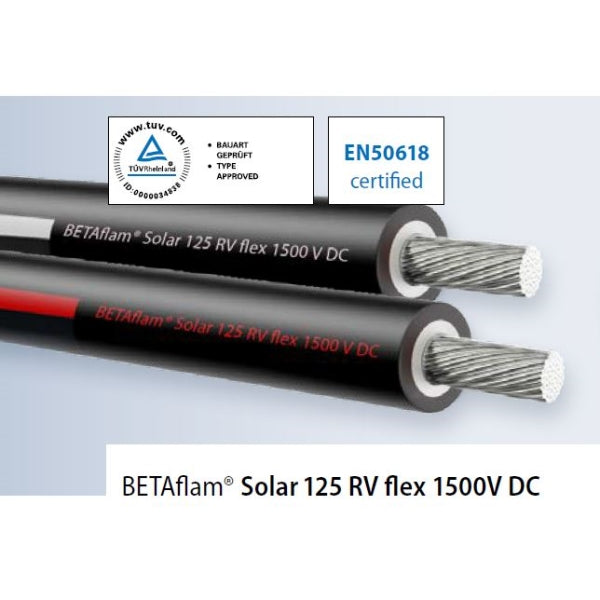 BETAflam Solar Cable