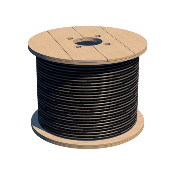 Solar Cable 6mm Black 500m Roll