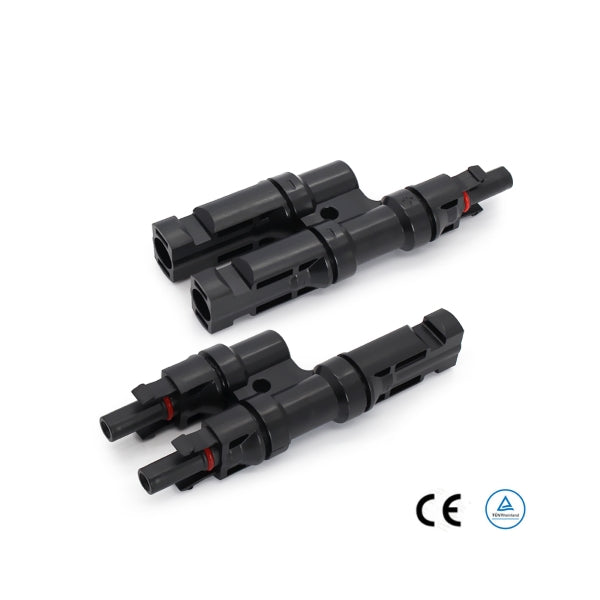 MC4 2-1 T Branch Connector Pair